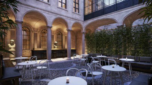 Cantiere galli design per elle decor grand hotel for Elle decor hotel palazzo morando
